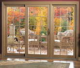 3-lite sliding patio door